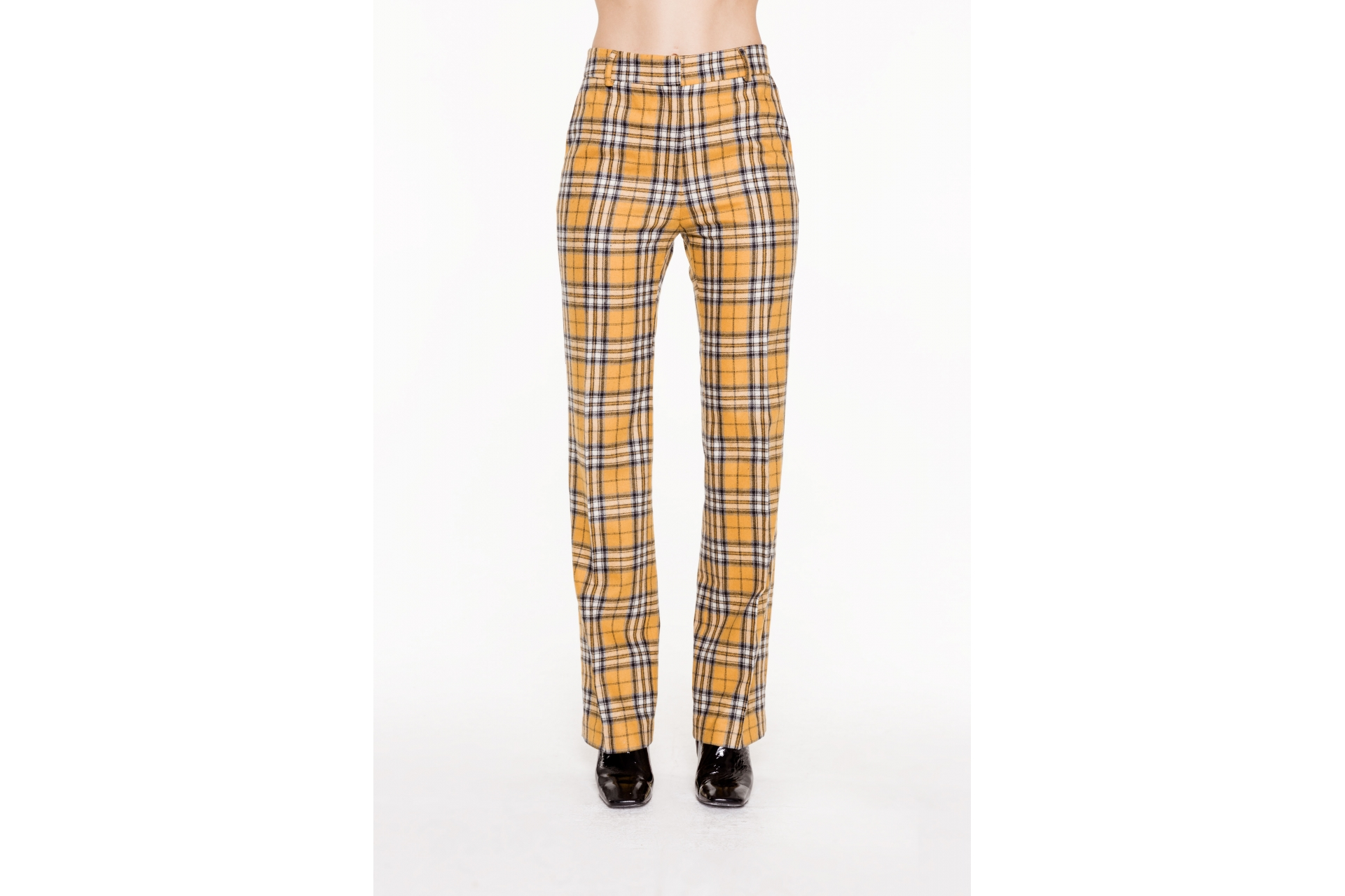 TESSA ORANGE CHECK