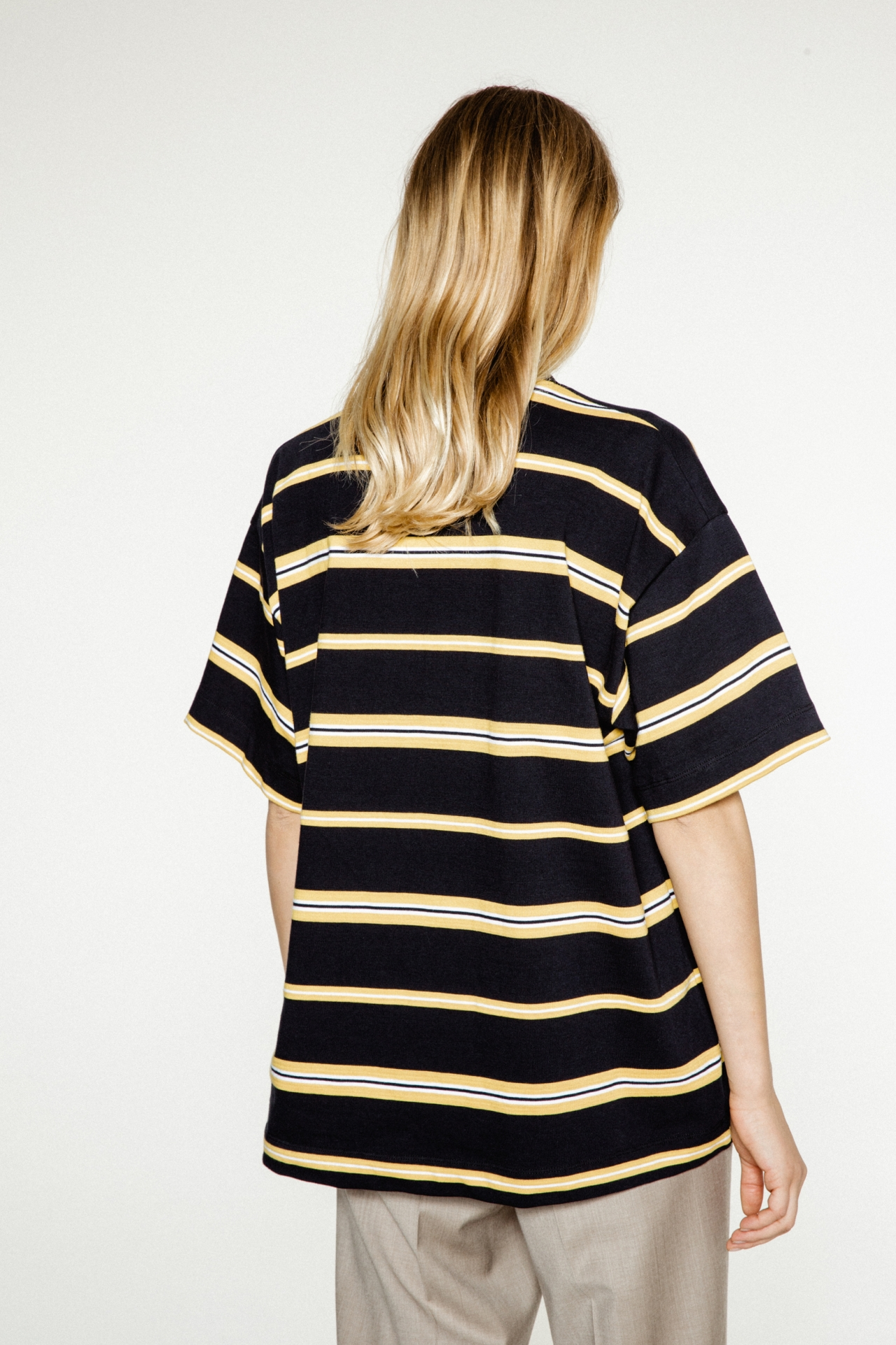 Gigi Navy Stripes